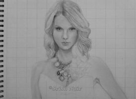 Taylor Swift Art Trade WIP 2 by ladysofhousen