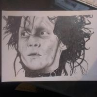 Edward Scissorhands by jjaade