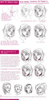 face tutorial by Fukari