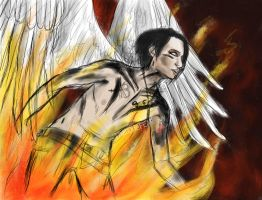 From the fire - Andy Biersack W.I.P by BlacklightArtist02