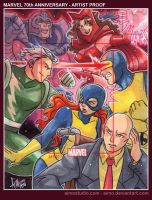Marvel 70th Anniversary AP1 by aimo