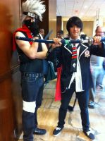 Kakashi and Rin(Mechacon 2013) by Hound-02