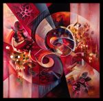 HADRA abstract painting by Amytea
