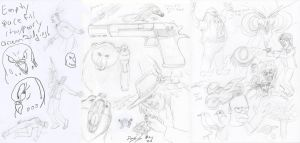 Sketch Dump May 2014 by Thagirion