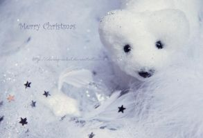 Greetings from Mister Snowy by Elwing-Isiliel