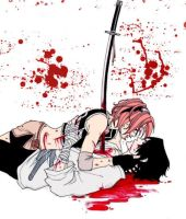 Blood Stained Kisses by misz-kaulitz
