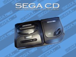 Sega CD Wallpaper by GamezAddic