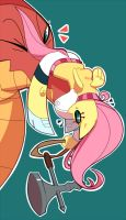 Fluttershy by polywomple