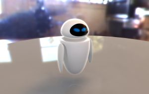 Eve from Wall-e Movie by mycort