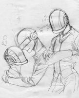 Bangalter end Christo by uromang