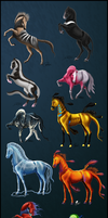 Australian (mostly) Animal-based Adoptables SOLD by Nikkayla