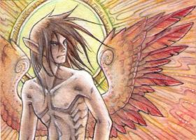 ACEO - winged by drachenmagier