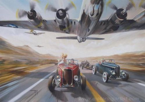 Low Flyers by MotoringArtist
