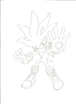Silver The Hedgehog by MaddieTyler