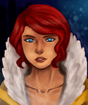 Transistor: Red by PaintedCerulean