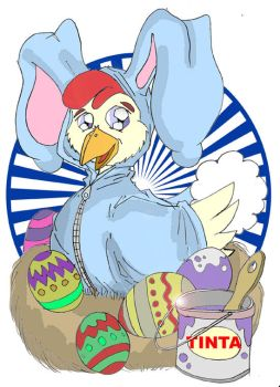 Easter Chicken by Mr-Roach