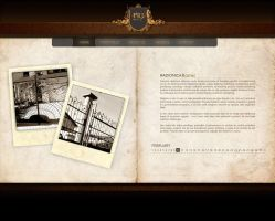 PRT web layout by DesignPot