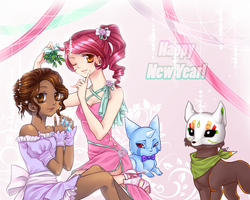 Digital War: New Years Ball by V-shue