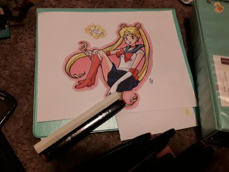 Sailor Moon (request) by AmeliaGrayson