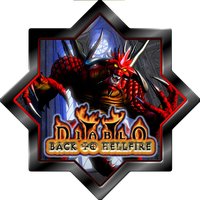 Diablo 2 Lord of Destruction Back To Hellfire Icon by stumpy666davies