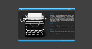 My Personal Website v.2.0 by MDGraphs