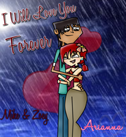 In The Rain - MikeXZoey by ItsArianna