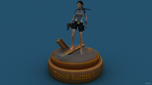 Tomb Raider II - Figurine by James--C