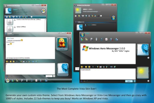 Vista Live Messenger 8.5 NEW by Stianu89