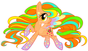 Rainbow Power April Blossom by Sakuyamon
