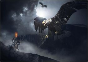 The Great Eagles of Misty Mountains by frestro79