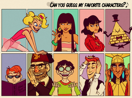 Favorite Characters Meme by Wickfield