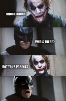 Batman's parents by jokercrazy