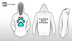 Furry and proud hoodie by Damfurrywolf
