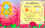 Windflower by 4br1l
