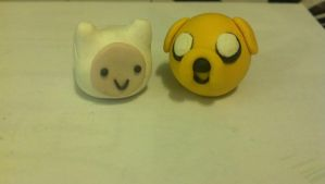 Little Finn and Jake :D by jenny3793