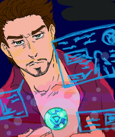 Tony Stark at your service by SonOfLaufey