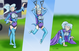 Trixie's Downfall - colored by phallen1