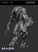 CGHub Mass Effect Challenge W.I.P by THECOOLGEEK