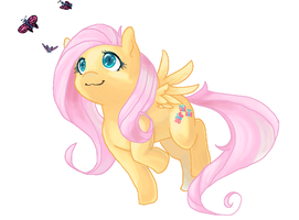 Fluttershy by HorrorDance