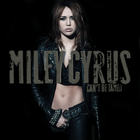 Can't Be Tamed CD Cover v3 by mikeygraphics