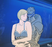 The FemShep Project - Garrus by ReiiTheRad