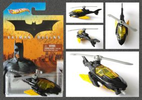 Batman - Batcopter by mikedaws