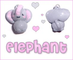 Elephant Charm by bapity88