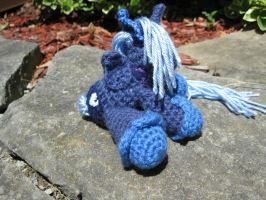 Mini Princess Luna Plushie Amigurumi 3 by RTakeshi