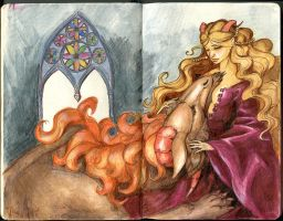 Beauty and the Beast by Laterne-Magica