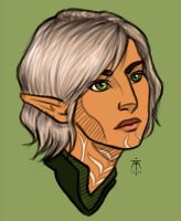 Female Fenris by Fastforwardmotion