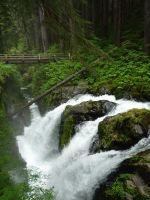 Sol Duc falls, WA by iamintheprocess