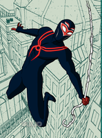 RRR Ultimate Spiderman by TULIO19mx