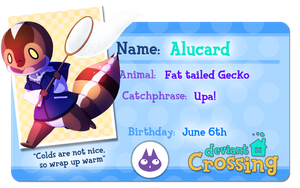 Deviant Crossing: Alucard's new app by HERthatDRAWS
