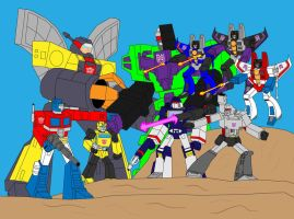 The Transformers. by Blockwave